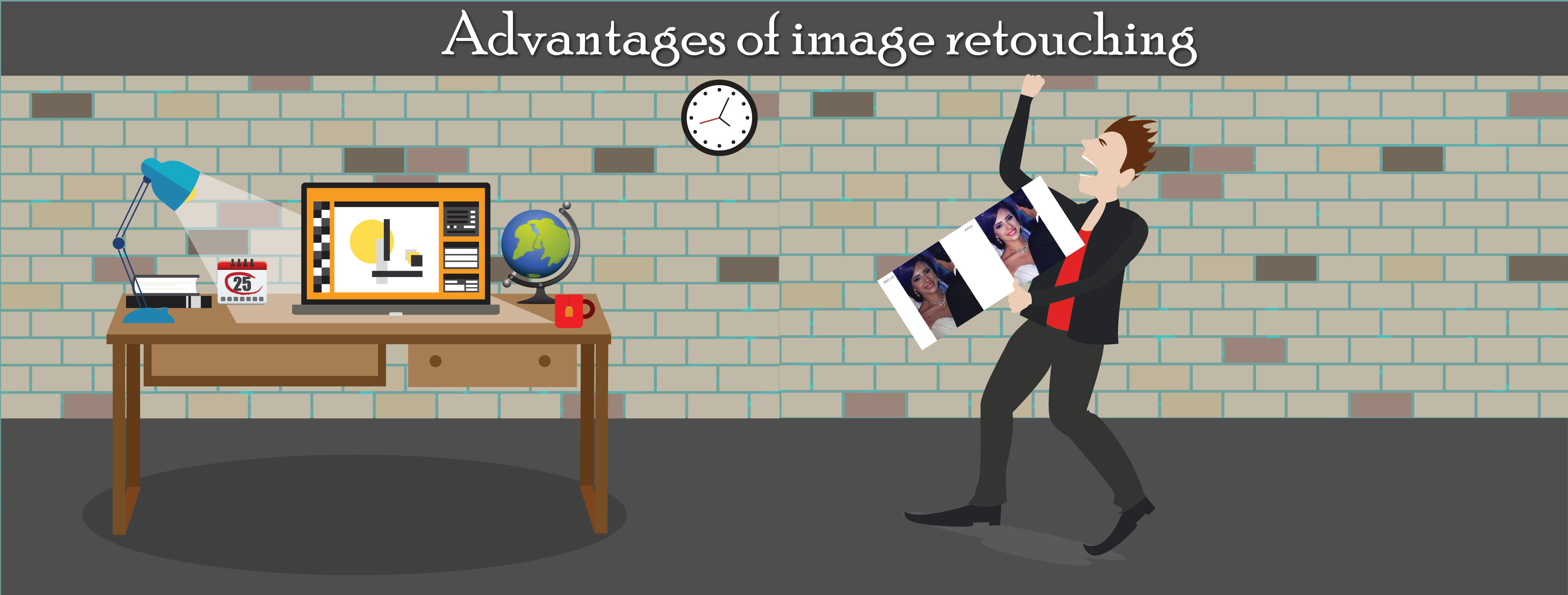 Advantages of image retouching