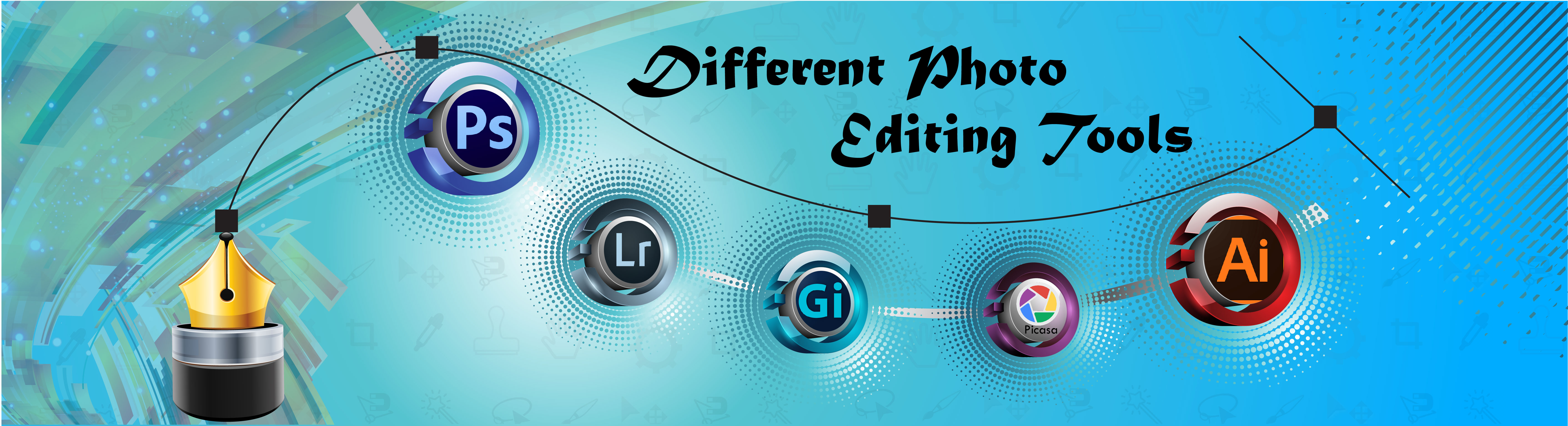 Different Photo Editing Tools