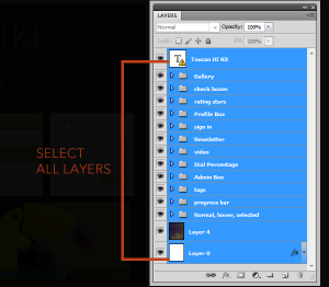 Select All Layers Image