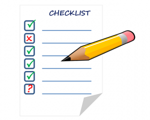 business license and registration checklist