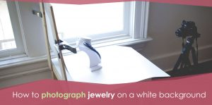 Photography jewelry tutorial Background Image