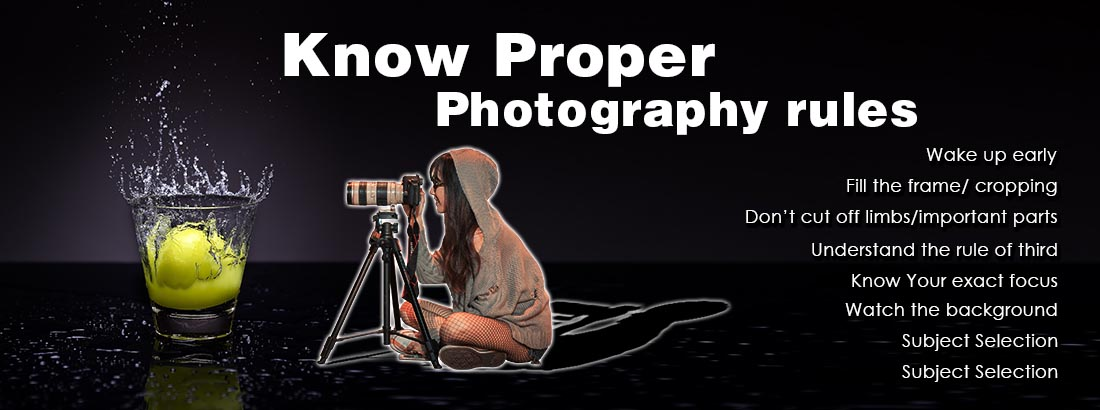 Proper Travel Photography Rules for Photographer