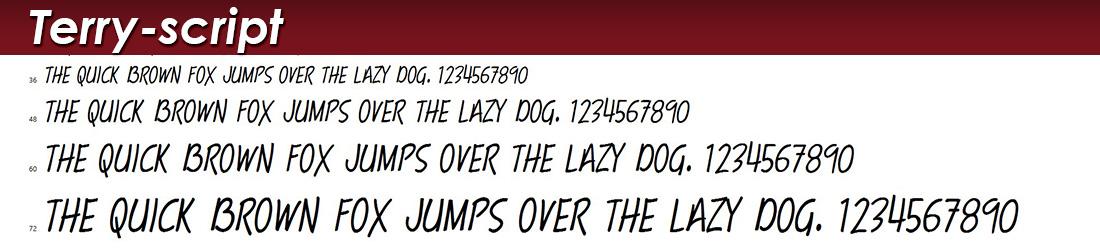 Trumpit Scrip: Fonts Image