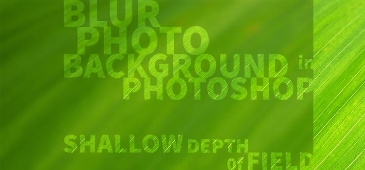 Blur Photo Background banner