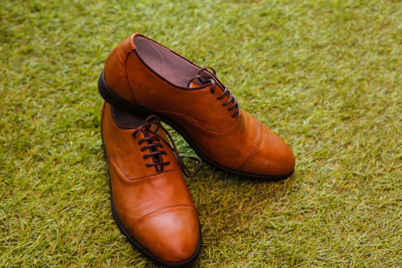 Canva Leather Shoe