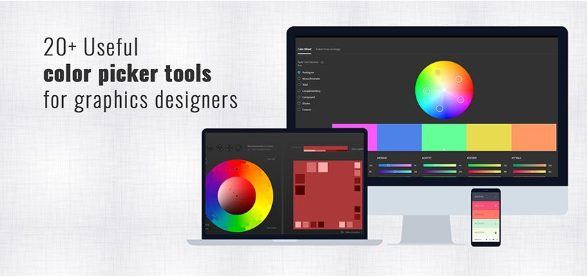 21 Useful color picker tool banner