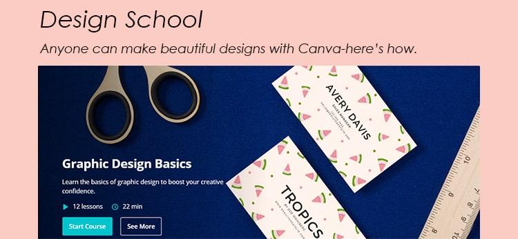 Canva Design School Canva Graphics Design for Entrepreneurs Design 11 Projects-min