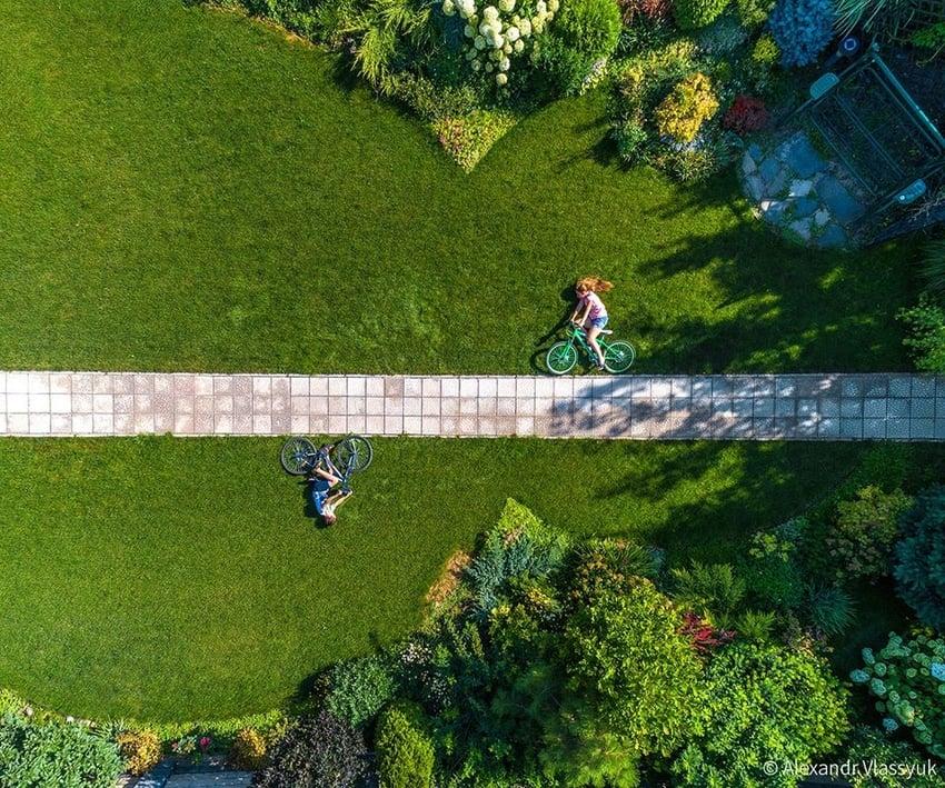 A Walk On The Bike by Alexandr Vlassyuk