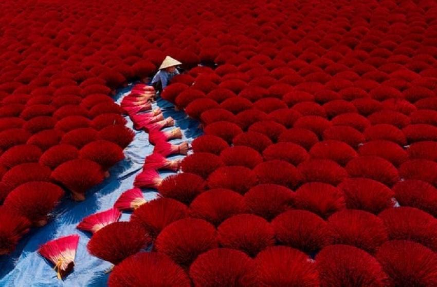 Incense Work by Khanh Phan