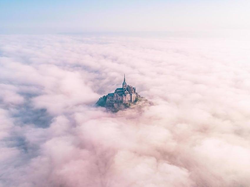 Reaching for Heaven by Konrad Paruch