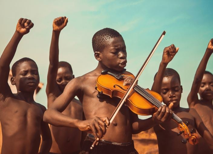Songs of Freedom by Michael Aboya