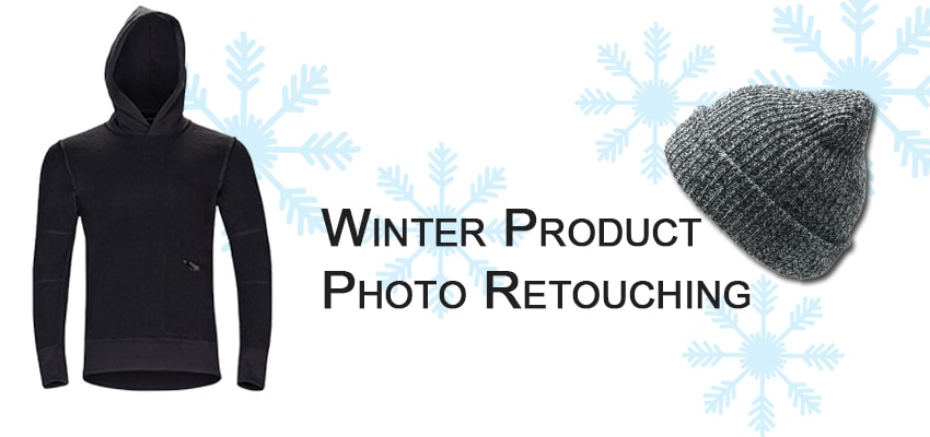 Winter Product Photo Retouching Services