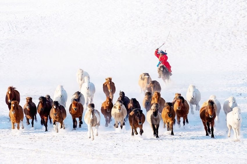 Winter in Mongolia- best photographs by Zay Yar Lin