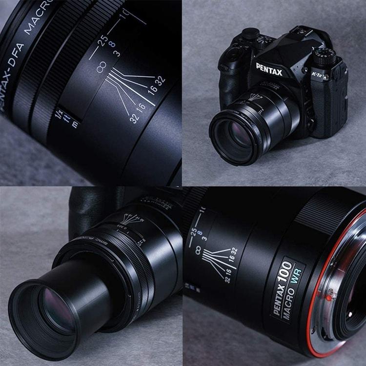 Pentax WR D-FA SMC 100mm-macro lens