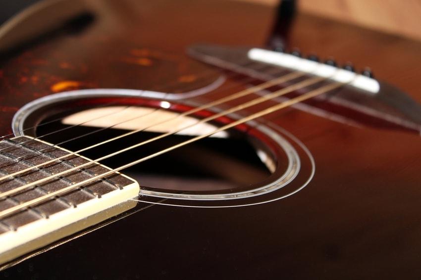 macro guitar photo