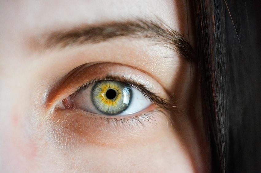 macro human eye photography